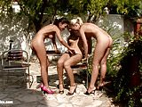 Alison and Hailee in a nice lesbian scene by Sapphic Erotica