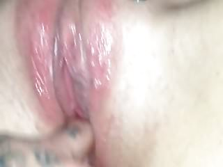 slut milf warming up for her BBC gangbang