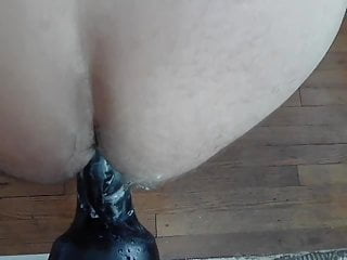 The biggest dildo Ive ever had up my ass
