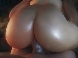 Tracer gets big dick in and creampie by...