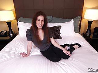 Horny Redhead Cougar fulfills Porn Fantasy