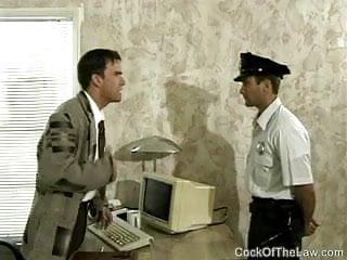 Cop by boss...