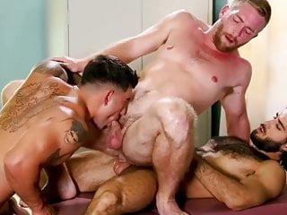 Scott, Vadim & Diego threesome