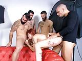 LETSDOEIT - 4 Guys, 1 Girl Hardcore GANG BANG