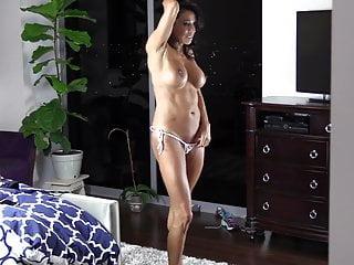 Amazing mature try on bikini...