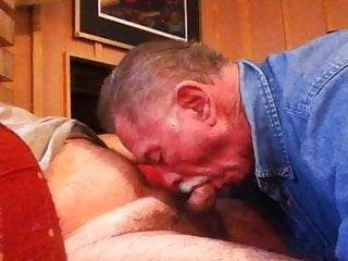 Old guy suck 2...