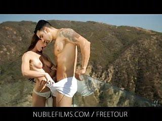 Nubile Films - Sultry vixen Vanessa Sixxx fucks neighbor on