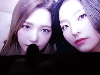 Fromis 9 – Jisun and Saerom – cum tribute 1
