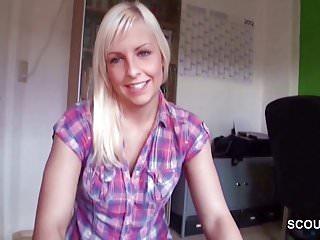 Deutscher Model Scout fickt mollige Teenie Elisa