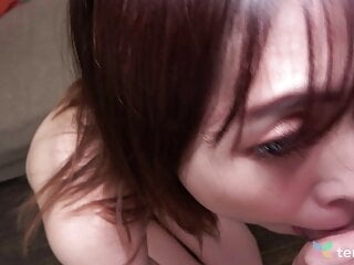 Risako Goto got fingered until she came and then fucked