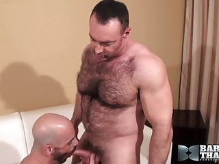Muscle Stud Fucked Raw by Handsome Hairy Daddy