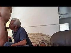 white haired grandpa sucking big dickfree full porn