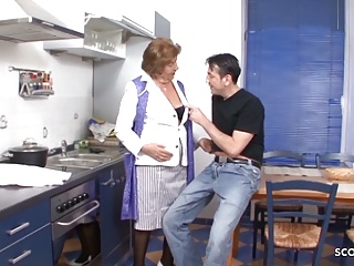 grandson seduce hairy granny to fuck - german vintage pornPorn Videos