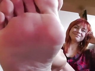 Russian milf feet soles tease part 2