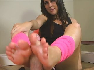 Jess West Sweaty Workout Footjob