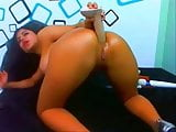 latina big booty anal squirting webcam compilation!