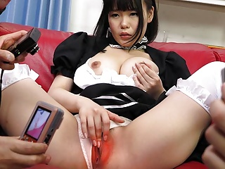 JAV maid, Ai Mashiro is having a blast, uncensored