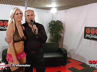 Blonde sex bomb bukkake lover girls...