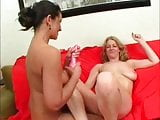 Old & Young  lesbian sex