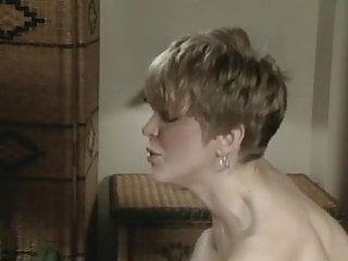 Strapon Blonde Blowjob video: Switch to  strapon short haired blonde