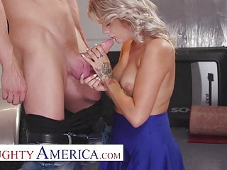 Naughty America - Harmony Rivers gets fucked one last time