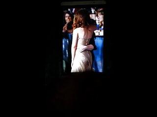 Kristen Stewart's ass cum tribute 5