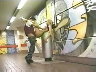 Metro station...