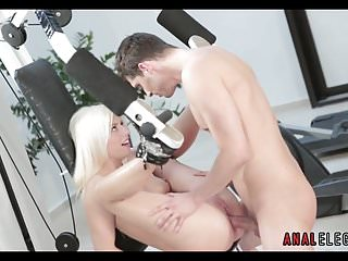 Getting anal gym...