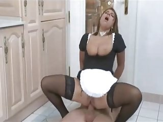 Assfucked maid...