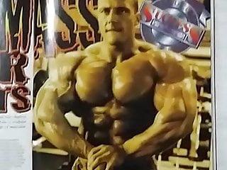To bodybuilder...