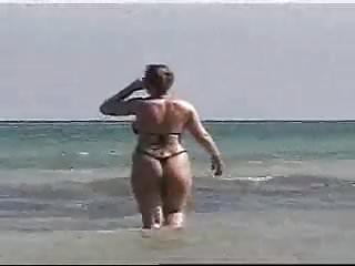 Butt naked brick house beach...