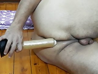 From egypt anal orgasm with clitty cum...