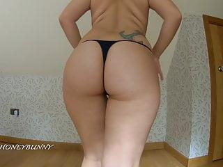 Hot cameltoe thong try on haul brazilian big...