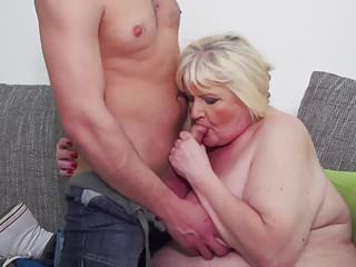 Eats young cum after sex...
