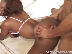 Black Stunner Likes Getting Rammed From Behind