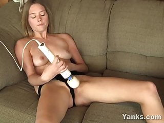 Sexy Yanks Babe Star Playing With Toys