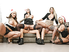 letsdoeit - hot office fuck fest christmas party - part 2.free full porn