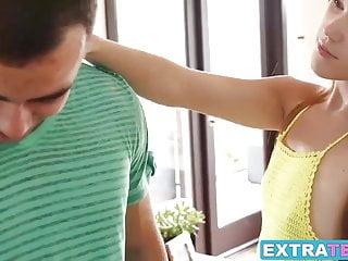 Amazing teen Kimberly Brix cheats on her boyfriend