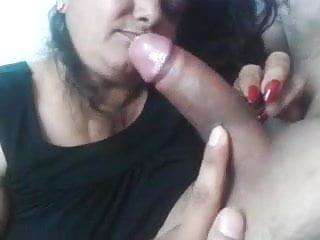 Desi gujju receives facial...