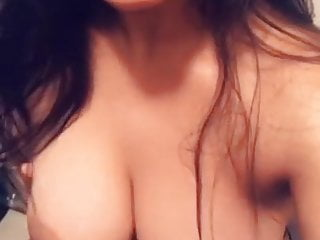 indian babe showing her asset's