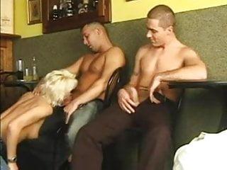 Bar gangbang
