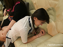 Lola's first spanking - part 2 (casting video)