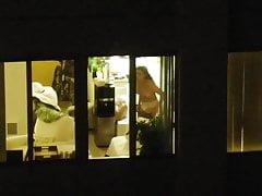 Drone Porno Catches Lady Bare In Quarantine, Studying.