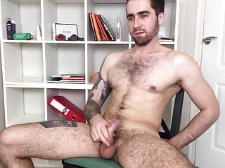 Hairy and athletic russian men alex big load...