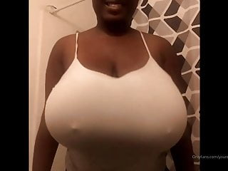 Short stack with bowling ball tits...