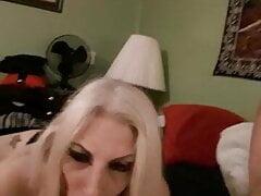 Merrydeath69 blonde amateur slut sucking hard