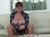 Stroke your cock and shoot your cum down your throat CEI