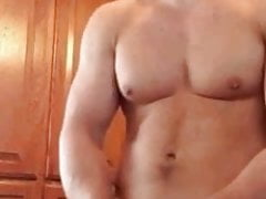 HOT MUSCLE STUD MOANS OUT A NICE LOAD