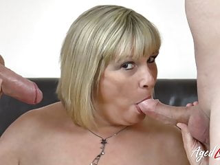 Hardcore Mature AgedLovE Action Threesome