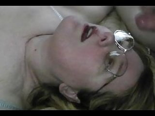 Sticky Facial Cumshot